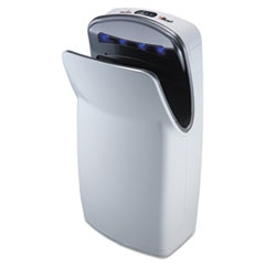 WORLD DRYER® VMax Hand Dryer, High Impact ABS, White WRLV674A