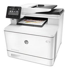 Color LaserJet Pro MFP M477fnw Wireless Multifunction, Copy/Fax/Print/Scan