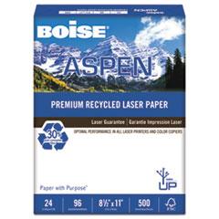Boise® ASPEN Premium Laser Paper, 96 Bright, 24lb, 8-1/2 x 11, White, 500 Sheets/Ream