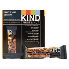 KIND Fruit and Nut Bars, Fruit and Nut Delight, 1.4 oz, 12/Box