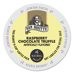 Van Houtte® Flavored Coffee K-Cups, Raspberry Chocolate Truffle, 24/Box