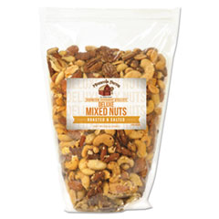 Office Snax® All Tyme Favorite Nuts, Deluxe Nut Mix, 34 oz Bag OFX00098