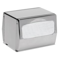 San Jamar® Countertop Napkin Dispenser, 7 3/4 x 6 x 5 3/4, Chrome