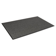 Crown Oxford Elite Wiper/Scraper Mat, 24 x 36, Black/Brown