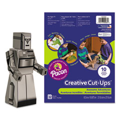 Pacon® Creative Cut Ups, Awesome Adventures, 8 1/2 x 10 1/2, 32 Sheets PAC1000085