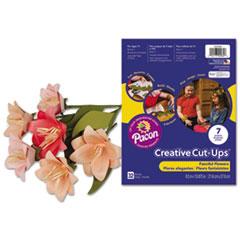 Pacon® Creative Cut Ups, Fanciful Flowers, 8 1/2 x 10 1/2, 32 Sheets PAC1000084