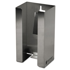 San Jamar® Stainless Steel Disposable Glove Dispenser, Single-Box, 5 1/2w x 3 3/4d x 10h