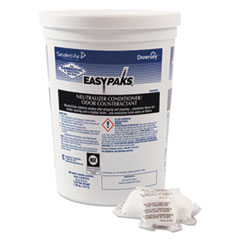 Easy Paks® Neutralizer Conditioner/Odor Counteractant, .5oz Packet, 90/Tub, 2 Tubs/Carton