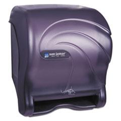 San Jamar® Oceans Smart Essence Electronic Towel Dispenser, 11.88 x 9.1 x 14.4, Black