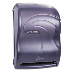 San Jamar® Smart System with iQ Sensor Towel Dispenser, 11.75 x 9.25 x 16.5, Black Pearl