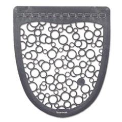 Boardwalk® Urinal Mat 2.0, Rubber, 17.5 x 20, Gray/White, 6/Carton