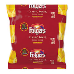 Folgers® Coffee Filter Packs, Classic Roast, 1.4 oz Pack, 40/Carton FOL10117