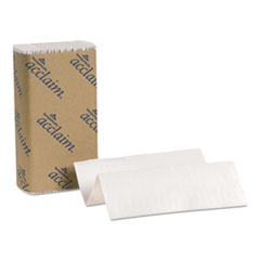 Folded Paper Towel, 9 1/4 x 9 1/2, White, 250/Pack, 16 Packs/Carton