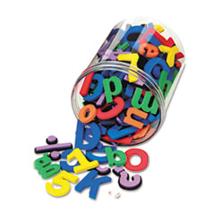 WonderFoam® Magnetic Alphabet Letters, Assorted Colors. 105/Pack