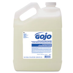 GOJO® White Lotion Skin Cleanser, Floral Scent, 1 gal Bottle, 4/Carton