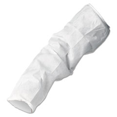 KleenGuard™ A10 Breathable Particle Protection Sleeve Protectors, 18 in., White, 200/Carton