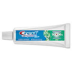 Crest® Complete Whitening Toothpaste + Scope, Minty Fresh, 0.85 oz Tube, 72/Carton