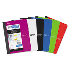 Composition Book, Medium/College Rule, Assorted Cover Colors, 9.75 x 7.5, 100 Sheets