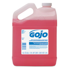 GOJO® Antimicrobial Lotion Soap, Floral Balsam Scent, 1 gal Bottle, 4/Carton