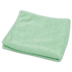 "Diversey™ TASKI Microstandard Cloths, Green, 12 1/2"" x 12 1/2"", 20/Pack DVO5787412"