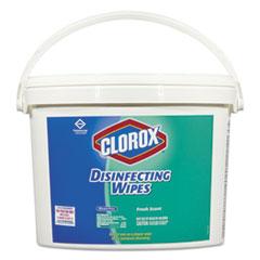 Clorox® Disinfecting Wipes, 7 x 7, Fresh Scent, 700/Bucket CLO31547