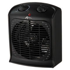 "Alera® Heater Fan, 8 1/4""w x 4 3/4""d x 9 3/4""h, Black ALEHEFF10"