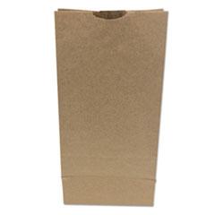 """Husky Dubl Life SOS Bags, 8.25"""" x 15.88"""", Kraft, 500/Bundle"""