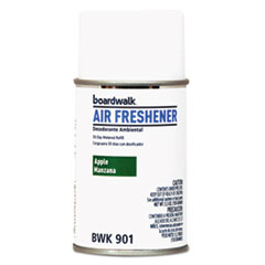 Boardwalk® Metered Air Freshener Refill, Apple Harvest, 5.3 oz Aerosol, 12/Carton