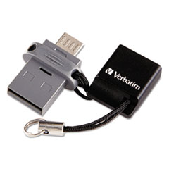 Verbatim® Store 'n' Go Dual USB Flash Drive for OTG Devices Thumbnail