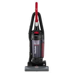 Sanitaire® FORCE QuietClean Upright Vacuum with Dust Cup and Sealed HEPA Filtration, Black