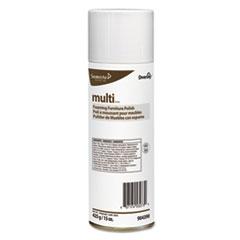 Diversey™ MULTI Foaming Furniture Polish, Lemon Scent, 15 oz Aerosol, 12/Carton