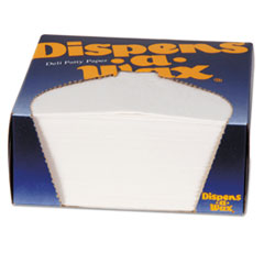 Dixie® Dispens-A-Wax Waxed Deli Patty Paper, 4 3/4 x 5, White, 1000/Box