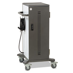 Ergotron® YES40 Charging Cart for Tablets, 48 x 29 x 30, Gray; White