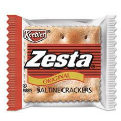 Keebler® Zesta Saltine Crackers, 2 Crackers/Pack, 500 Packs/Carton