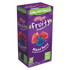 Kellogg's® Fruity Snacks, Mixed Berry, 0.7 oz Bag, 70/Carton