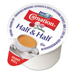 Carnation® Half & Half, 0.304 oz Cups, 180/Carton NES21501