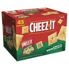 Sunshine® Cheez-it Crackers, 1.5 oz Bag, White Cheddar, 45/Carton