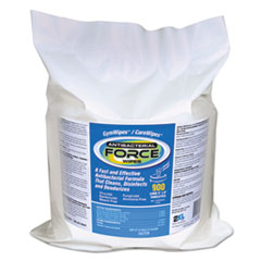 Image of FORCE Antibacterial Wipes Refill, 8 x 6, White, 900/Pack, 4/Carton Bathrooms & Accessories TXLL4014 2XL