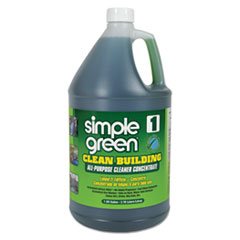 Simple Green® Clean Building All-Purpose Cleaner Concentrate, 1 gal Bottle, 2/Carton