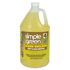 simple green® Clean Building Carpet Cleaner Concentrate, Unscented, 1gal Bottle SMP11201