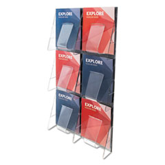 deflecto® Stand Tall® Multi-Pocket Wall-Mount Literature Systems Thumbnail