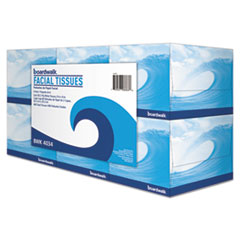 Boardwalk® Office Packs Facial Tissue, 2-Ply, White, 80 Sheets/Box, 36 Boxes/Carton BWK4034CT