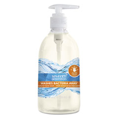 Natural Hand Wash, Purely Clean, Fresh Lemon & Tea Tree, 12 oz Pump Bottle