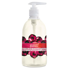 Natural Hand Wash, Black Currant & Rosewater, 12 oz Pump Bottle