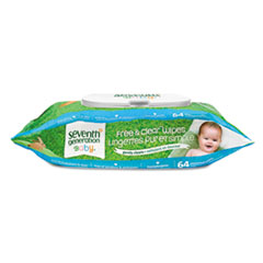 Seventh Generation® Free & Clear Baby Wipes Thumbnail