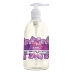 Natural Hand Wash, Lavender Flower & Mint, 12 oz Pump Bottle