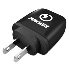 Rayovac® Single USB Wall Charger, 1 USB Port, Black