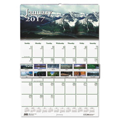 House of Doolittle™ Earthscapes™ 100% Recycled Scenic Beauty Monthly Wall Calendar Thumbnail
