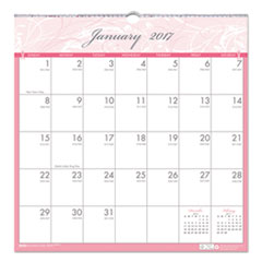 House of Doolittle™ Breast Cancer Awareness 100% Recycled Monthly Wall Calendar Thumbnail