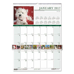 House of Doolittle™ Earthscapes™ 100% Recycled Puppies Monthly Wall Calendar Thumbnail